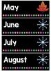 Australian Months of the Year {FREEBIE}