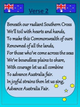 Australian National Anthem Advance Australia Fair