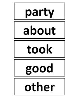 Australian Oxford Words 101-200 (2nd set) Standard Font