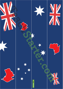 Australian Page and Cork Border