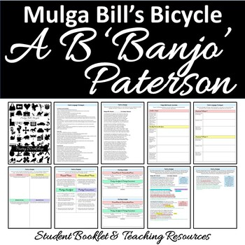 Australian Poetry Close Reading Mulga Bill's Bicycle by Banjo Paterson