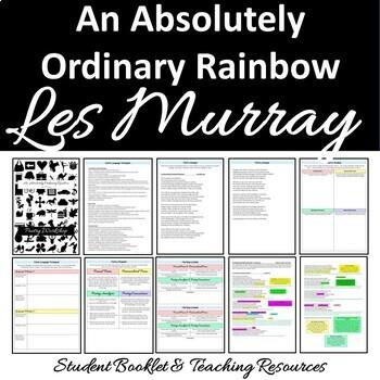 Australian Poetry Close Reading Worksheets GROWING BUNDLE Australian Poems
