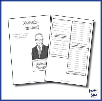 Australian Government - Prime Minister Malcolm Turnbull Flip Book