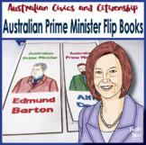 Australian Government- Prime Ministers Fast Facts Flip Books