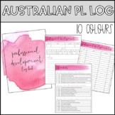 Australian Professional Development Log Book