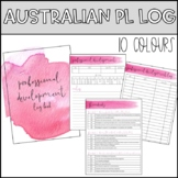 Australian Professional Development Log Book