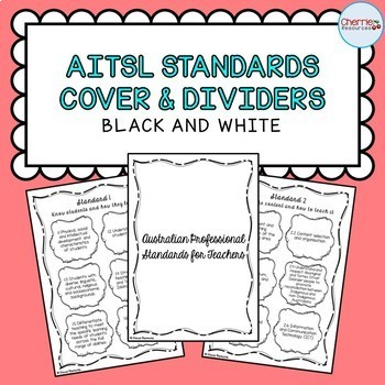 Australian Professional Standards Cover and Dividers (Blac