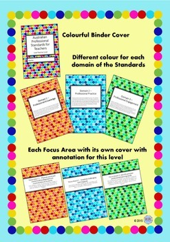 Australian Professional Standards for Teachers Binder/Folio- Lead Teacher Level