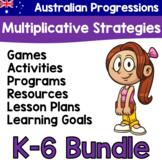 Australian Progressions - Multiplicative Strategies Bundle