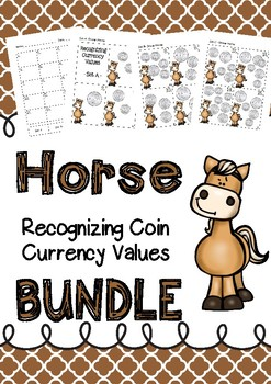 Australian Recognizing Currency Coin Values BUNDLE Horse
