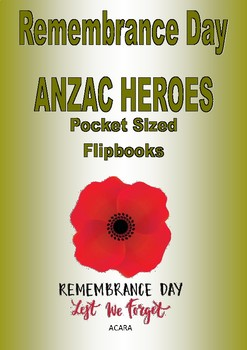 Australian Remembrance Day - ANZAC Heroes Flipbook