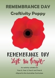 Australian Remembrance Day - Craftivity