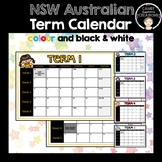 Australian School Term Calendar (2018)