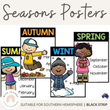 Australian Seasons Posters
