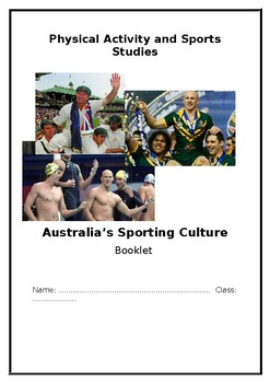 Australian Sporting Identities Booklet