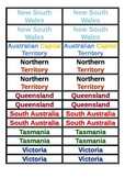 Australian State Emblems and Symbols