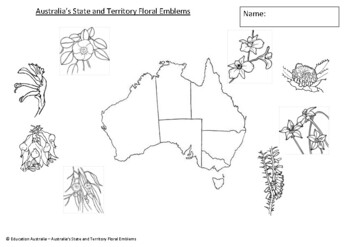 Australian State and Territory Floral Emblems - Symbols of