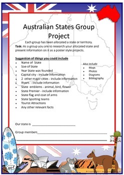 Australian States - Group Project