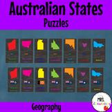 Australian Geography Activity | Australian States Puzzle