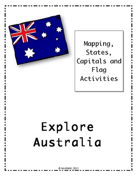 australian states territories and capital cities puzzles and activities