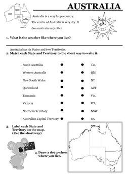 Australian States and Territories