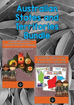 Australian States and Territories Geography Bundle