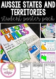 Australian States and Territories | Student Poster Pack