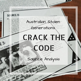 Australian Stolen Generations - Crack the Code Source Analysis
