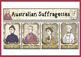Australian Suffragette Poster set and Wall Banner - Australian Democracy