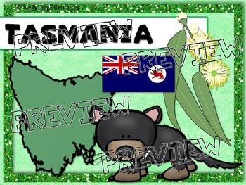 Australian Symbols Emblems and Flags Classroom Decor Poster Set