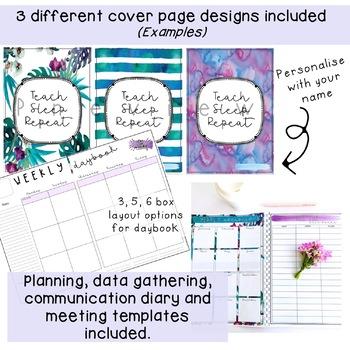 Editable Teacher Planner -  AITSL Aligned Australia