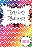 2018 Australian Teacher Planning Binder