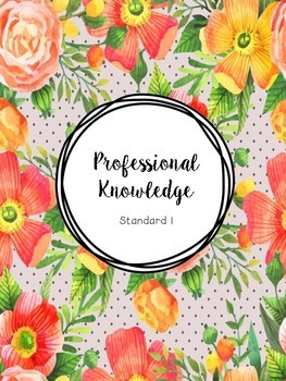 Australian Teacher Standards Portfolio Cover