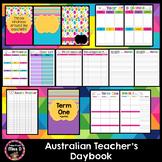 Teacher Planner Australia Editable