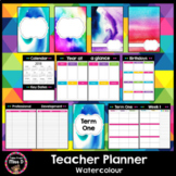 Australian Teacher's Planner Editable