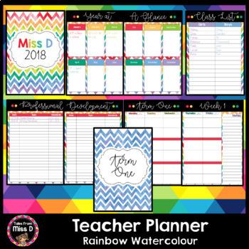 Australia Teacher Planner Editable