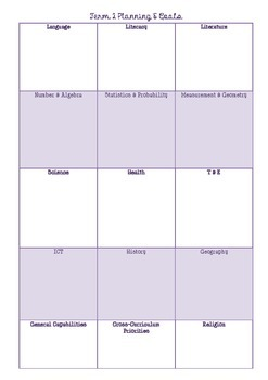 Australian Teacher's Daily Work Pad 2014
