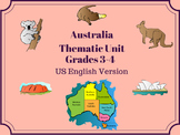 Australia Thematic Unit - Grades 3-4 - US English