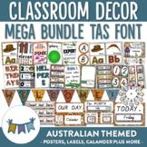 Australian Themed Classroom Decor TAS Font
