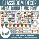 Australian Themed Classroom Decor VIC Font