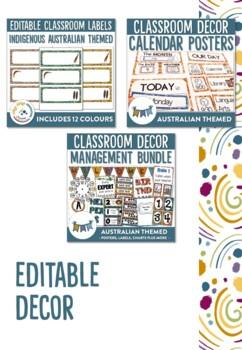 Australian Themed Classroom Decor and Classroom Management Mega Bundle