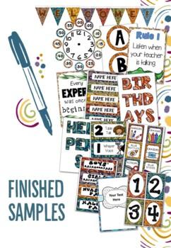 Australian Themed Classroom Management Bundle - Editable!!