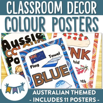 Australian Themed Colour Posters