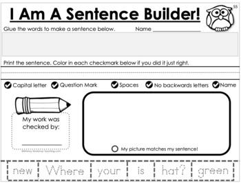 Australian UK Version - Sentence Building Kit 1
