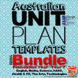 Australian Unit Plan Templates - Mega Bundel - Foundation