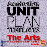 Australian Unit Plan Templates - The Arts Pack - Foundatio