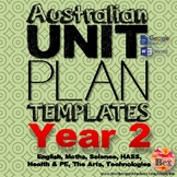 Australian Unit Plan Templates - Year 2