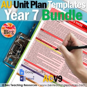 Australian Unit Plan Templates - Year 7