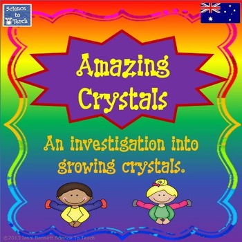 Australian Version - Amazing Crystals A stage 3 investigation