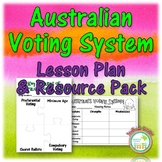 Australian Democracy - Voting Lesson Pack and Resources